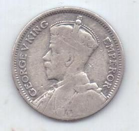 6 пенсов 1935 г. Фиджи