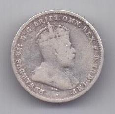 3 пенса 1910 г. редкий год. Австралия