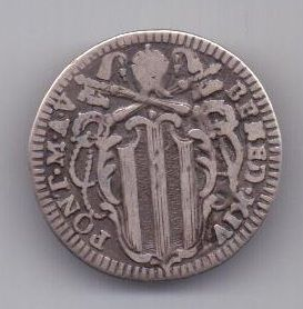 1 гроссо 1745 г. Ватикан