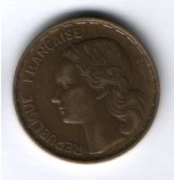 50 франков 1951 г. Франция