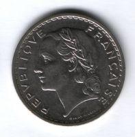5 франков 1935 г. Франция