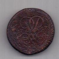деньга 1757 г. редкий год
