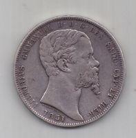 5 лир 1851 г. Сардиния. Италия