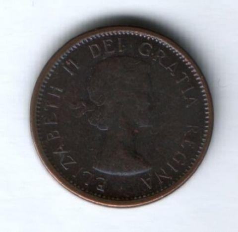 1 цент 1964 г. Канада
