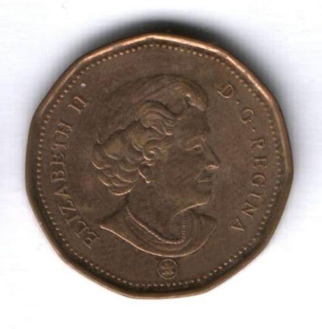 1 доллар 2011 г. Канада