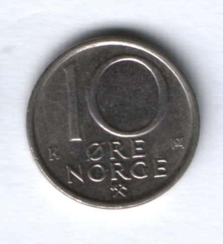 10 эре 1987 г. Норвегия