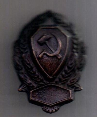 Нагрудный знак 1926 г. РКМ.