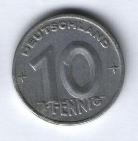 10 пфеннигов 1949 г. ГДР, Германия
