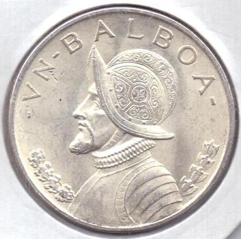 1 бальбоа 1947 г. UNC. Панама