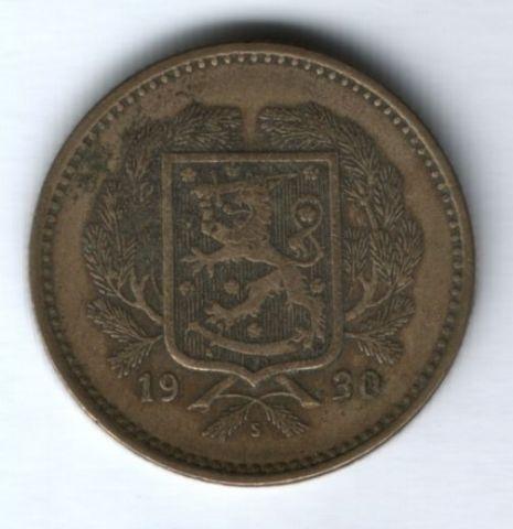 10 марок 1930 г. редкий год Финляндия