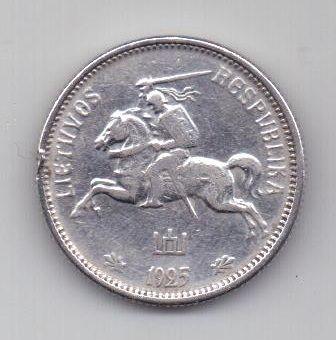 2 лита 1925 г. Литва