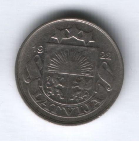 10 сантимов 1922 г. Латвия