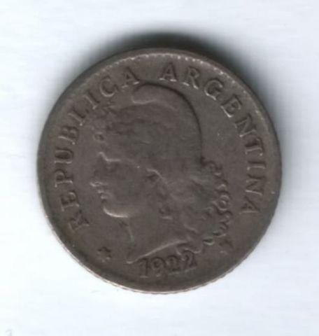 5 сентаво 1922 г. Аргентина