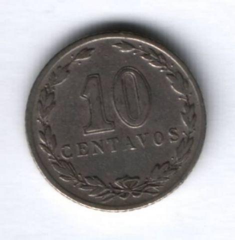 10 сентаво 1937 г. Аргентина