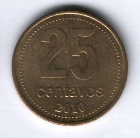 25 сентаво 2010 г. Аргентина