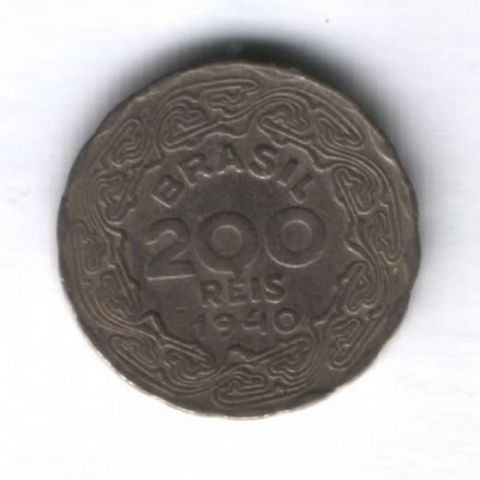 200 рейс 1940 г. Бразилия