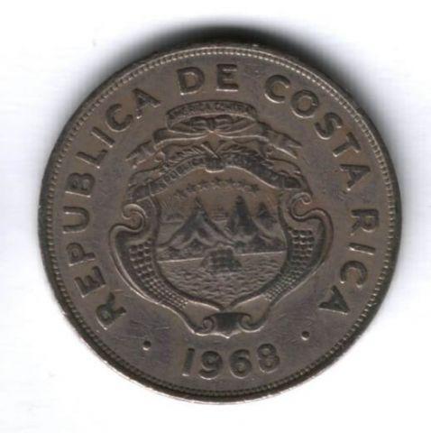 2 колона 1968 г. Коста-Рика