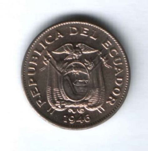 5 сентаво 1946 г. Эквадор