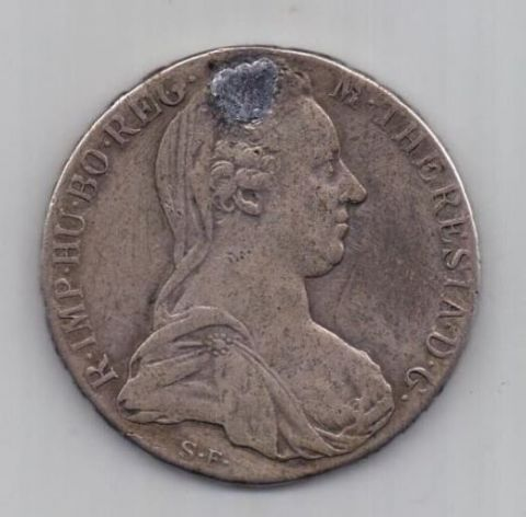 талер 1780 г. Австрия