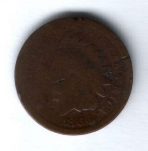 1 цент 1864 г. США