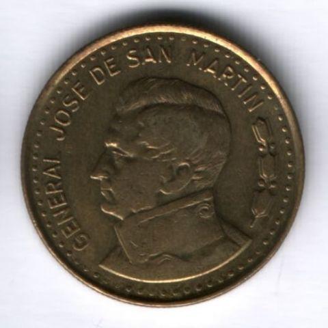 100 песо 1980 г. Аргентина