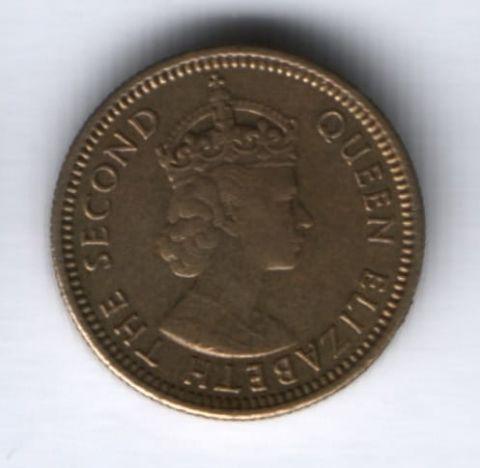 5 центов 1978 г. Гонконг