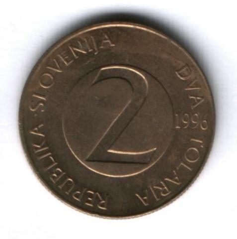 2 толара 1996 г. Словения
