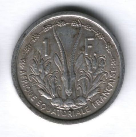 1 франк 1948 г. Французская Экваториальная Африка